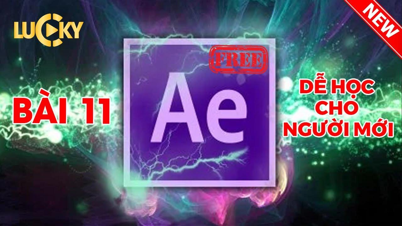 Bài 11: Cách vẽ hình và tạo các hiệu ứng chuyển động trong After effects cc 2018