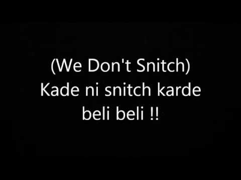Snitch - Elly Mangat (lyrical Video)