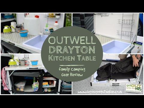 outwell drayton kitchen table - Kitchen Table Review