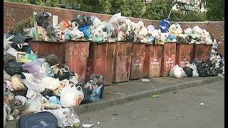 В Челябинске не вывозят отходы с контейнерных площадок
