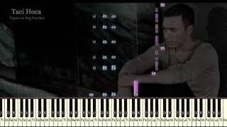 Org ve Piyano Dersleri -  Reset ( Mustafa Sandal feat  Eypio ) :Taci Baran - 0543 232 91 22 Video