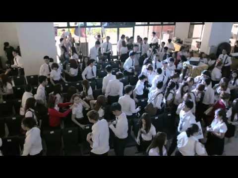 ปฐมนิเทศนักศึกษาใหม่ คณะนิเทศศาสตร์ มหาวิทยาลัยศรีปทุม ปี 2557