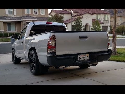 Supercharged Four-Cylinder Street Toyota Tacoma - One Take