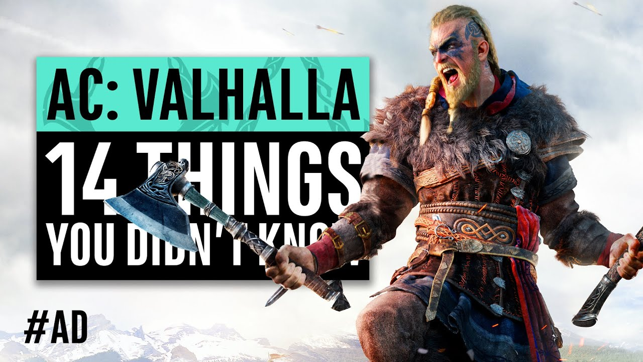 Assassin's Creed Valhalla | 14 Things You Didn't Know thumbnail