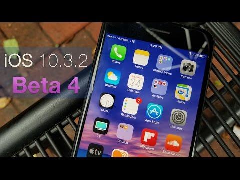 iOS 10.3.2 Beta 4 - What's New?