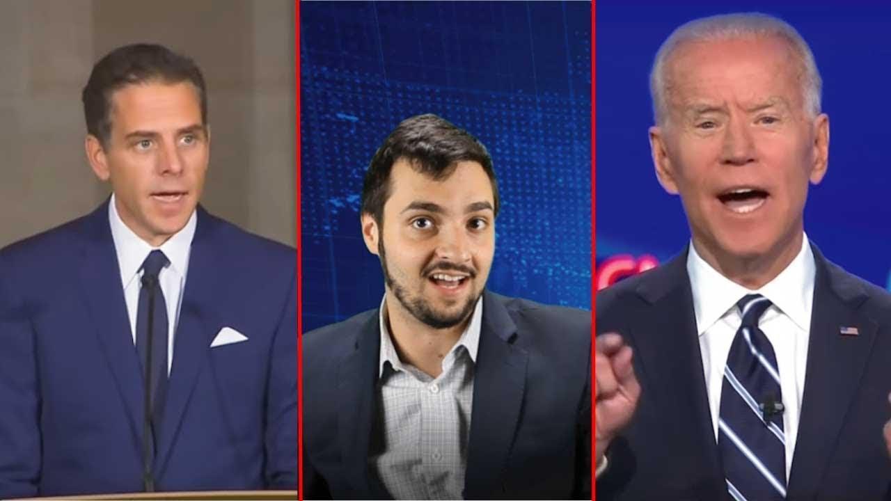 Ben Takes Down the Hunter Biden Ukraine Scandal - YouTube