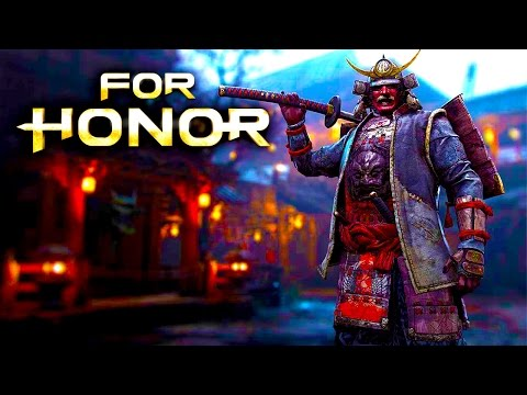 SAMURAI GENERAL Asset Gathering - For Honor Closed Beta Gameplay (Xbox One)
