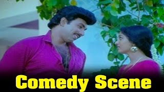 Vazhkai Chakkaram Movie : Sathyaraj Father Comes To Gouthami House Comedy Scene