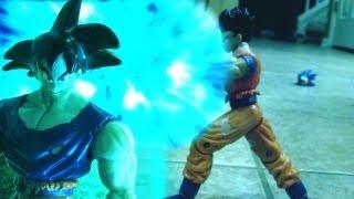 Dragon Ball Z Stop Motion: Goku vs Gohan