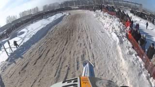 Мотокросс город Ковров 23.02.13. Yamaha YZ 450