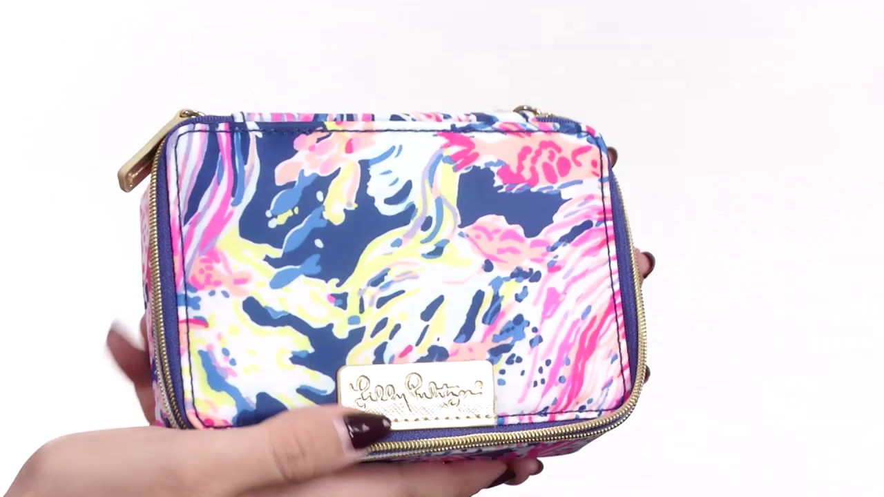 Lilly Pulitzer Travel Jewelry Case SKU8812797 YouTube