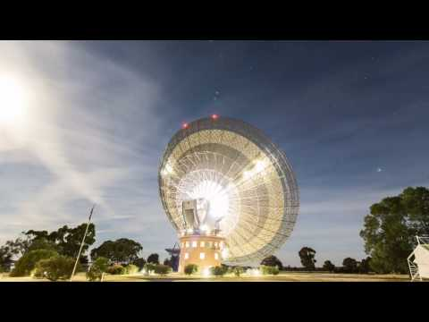 Parkes Radio Telescope 'The Dish' Time-lapse Photography