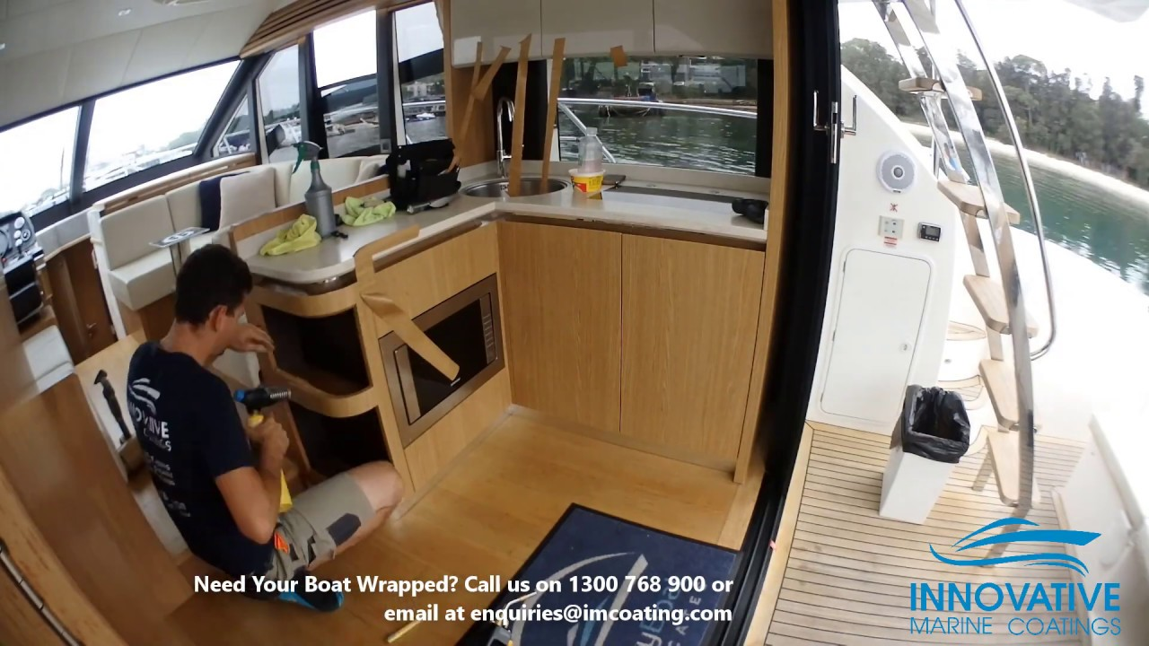 What to do when the interior of your boat is damaged or needs an upgraded look?