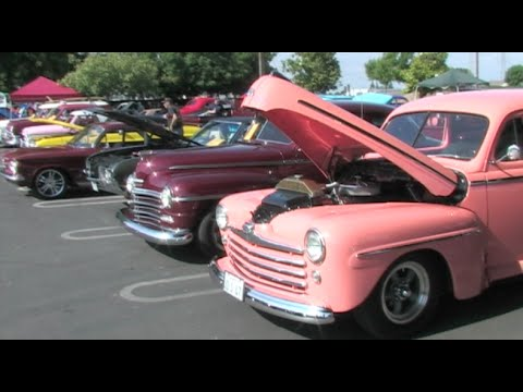 Cool Classic Car Show – The Central Valley Knights Classic Car Club (Modesto Car Show)