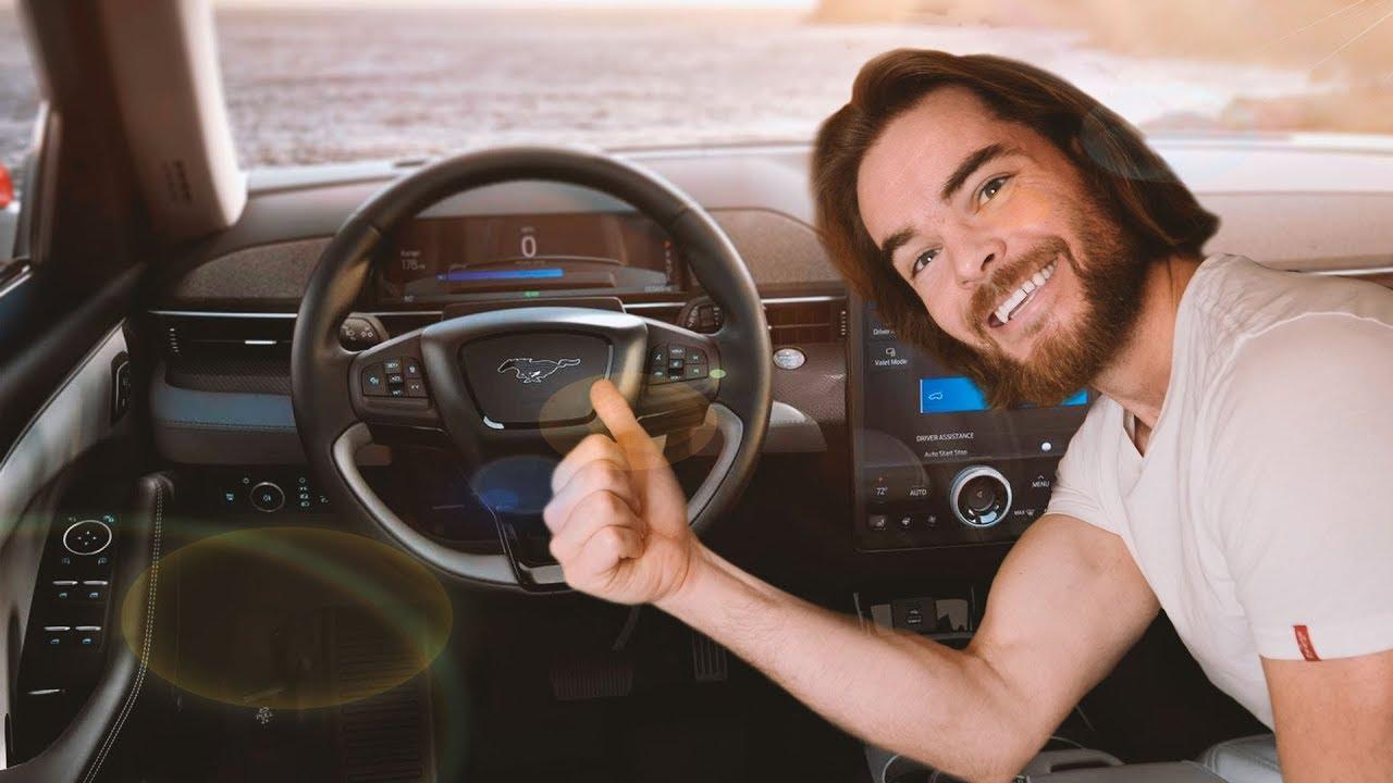 Новый электрокар Ford Mustang Mach-E - полностью веганский!