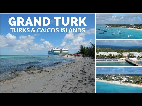 Grand Turk Cruise Port Tour & Travel Vlog Turks & Caicos Islands