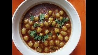 ବିନା ପିଆଜ ରସୁଣ ଖଟା ର ଛୋଲେ - Chole without Garlic Onion