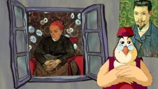 Сказки картинной галереи - Винсент Ван Гог (83  серия) (Уроки тетушки Совы)