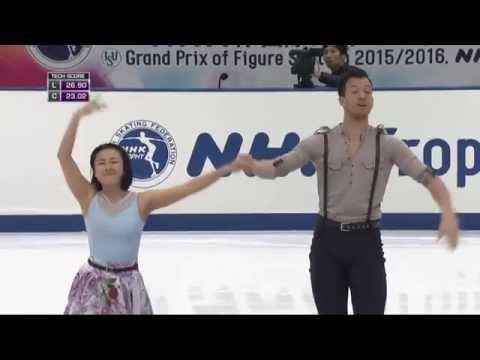 NHK Trophy 2015 Ice Dance SD Group 1