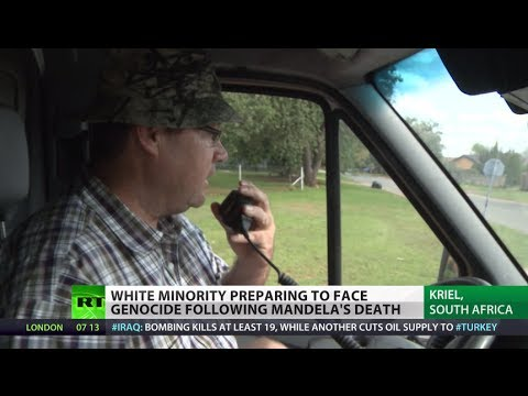 'Prepping for Genocide': White minority fears 'anarchy' in p