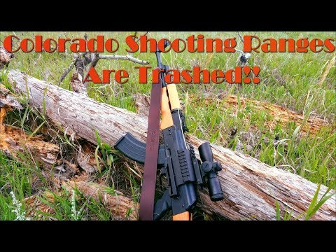 Colorado Shooting Ranges Are Trashed