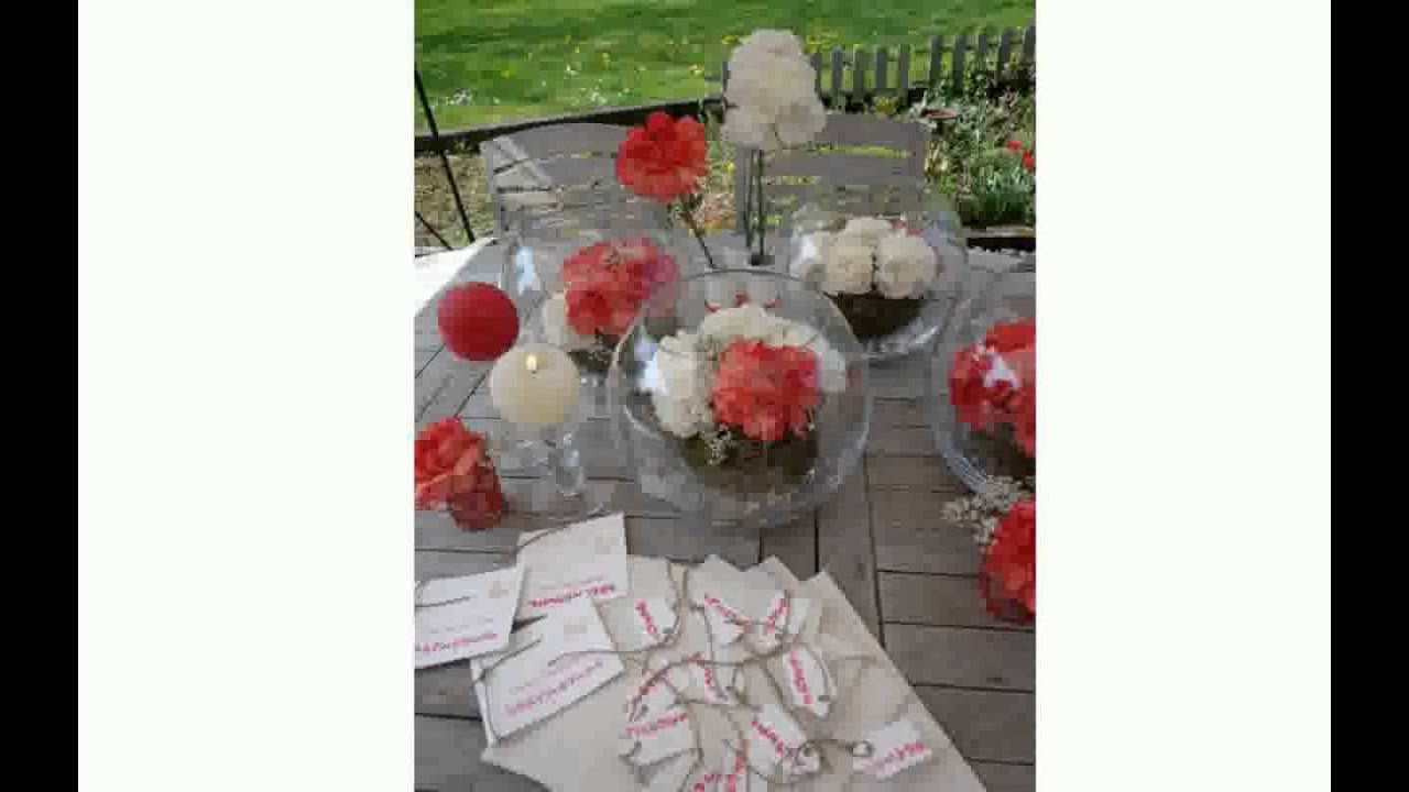 Deco de communion youtube - Decoration de table pour communion garcon ...