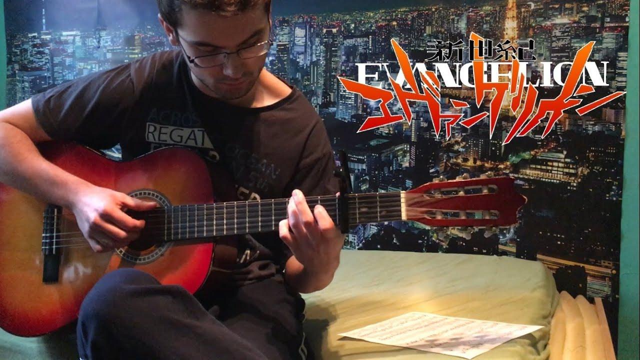 Cruel Angel's Thesis (Neon Genesis Evangelion) Guitar Tab