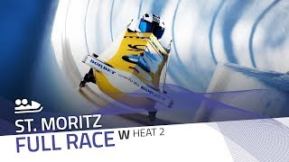 St. Moritz | BMW IBSF World Cup 2018/2019 - Women's Bobsleigh Heat 2 | IBSF Official