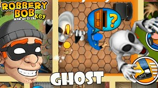 Robbery Bob Using MARIO GHOST Suit Part 12