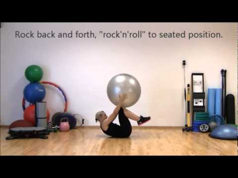 Stretching with Stability Ball | Marina Aagaard, MFE