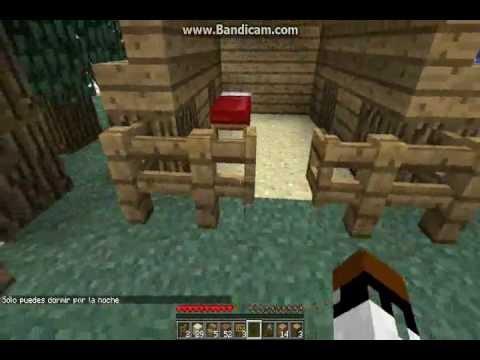 Como hacer una casa para perro en minecraft youtube for Construir casa de perro