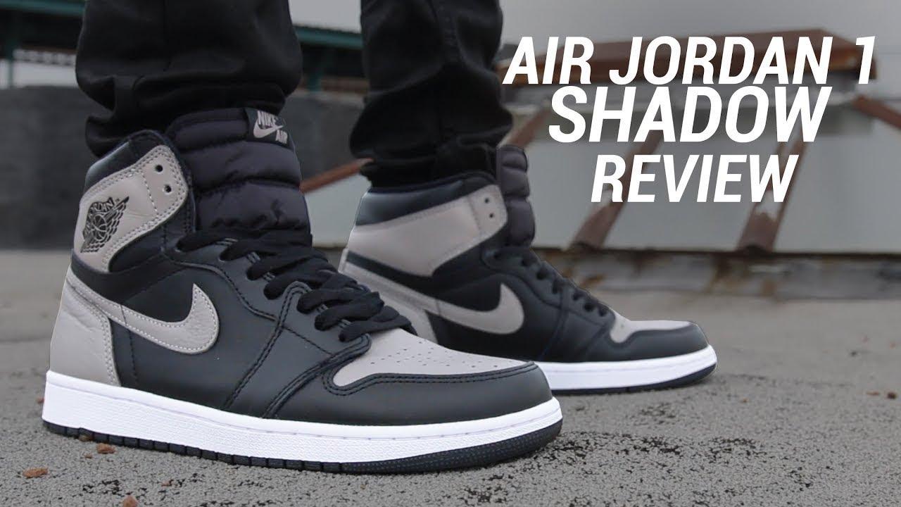 ba5e56e230247f Air Jordan 1 Shadow Men   Grade School Size Reveiw Plus On Feet Look And  More