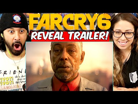 FAR CRY 6 - Official REVEAL TRAILER   Ubisoft Forward - REACTION!