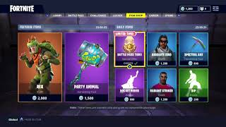 Fortnite item Shop Update June 6 2018! Fortnite Battle Royale! REX SKIN IS BACK!