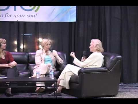 Dr. Christiane Northrup & Louise Hay at the Hay House I Can Do It! Conference in Las Vegas 2007