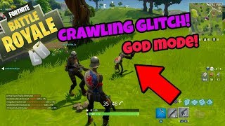 Fortnite Battle Royale Glitch (Crawling God mode) after Christmas update PS4/Xbox one