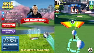 Golf Clash tips, Hole 3 - Par 3, Maple Bay -  Winter Major Tournament - ROOKIE Guide