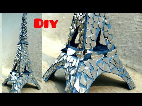 DIY: Eiffel Tower from paper/ Paper Eiffel tower || Create n art