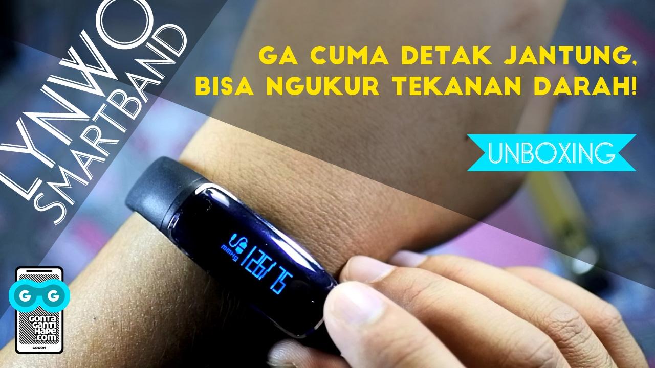Unboxing Lynwo Smartband Bisa Ngukur Tensi Darah Euy Keren Youtube Tensimeter Digital Wristband Premium