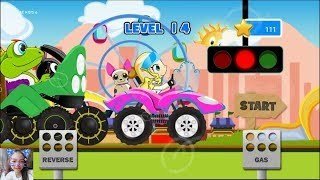 game đua xe cho trẻ em /Fun Kids Car Racing Game/  game kids6