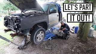 PARTING OUT 2003 CHEVY SILVERADO!