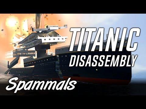 Titanic Disassembly | How Titanic REALLY Sank!