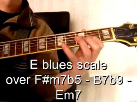 Autumn Leaves Jazz Guitar With Scale Explanations