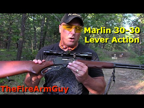 Marlin 30-30 win Lever Action Range Review - TheFireArmGuy