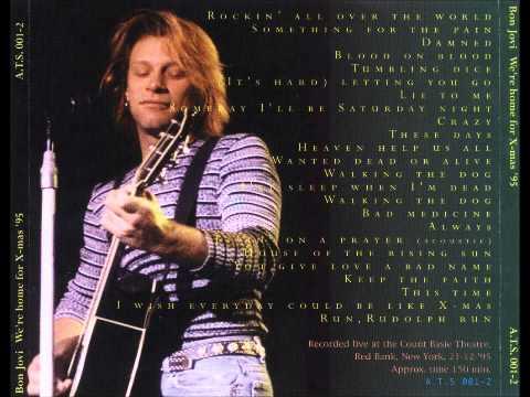Bon Jovi - Live in Red Bank, NJ 1995 [FULL]