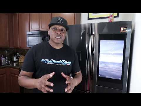 Samsung Refrigerator |Touchscreen Smart Fridge | Family Hub 3.0 First look and Review
