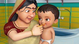 ঠাকুরমা - Grandma Song   Bengali Rhymes for Children   Infobells