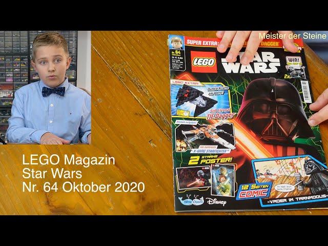 LEGO STAR WARS Magazin Oktober Nr.64 - 2020