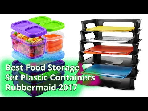 Best Food Storage Set Plastic Containers Rubbermaid 2017 Food Storage Containers