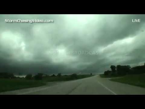 6/30/2014 Central Iowa Storm Chase - Live